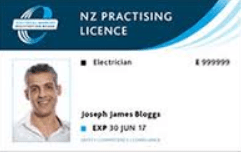 NZ Electrical Licence